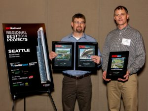 Hamilton's I-5 Willamette River Bridge – Whilamut Passage Named Best Construction Project in the Pacific Northwest for 2014 by ENR